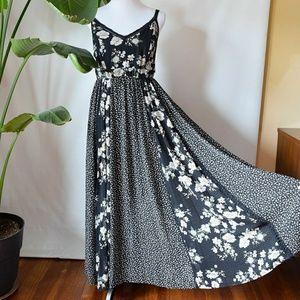 Torrid Patchwork Maxi Dress 0